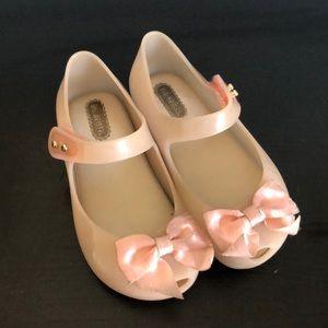 Mini Melissa blush pink Mary Janes